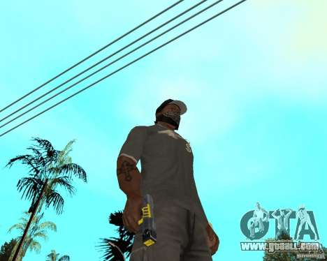 Taser for GTA San Andreas third screenshot