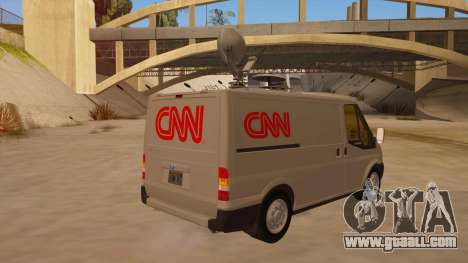 Ford Transit CNN for GTA San Andreas right view