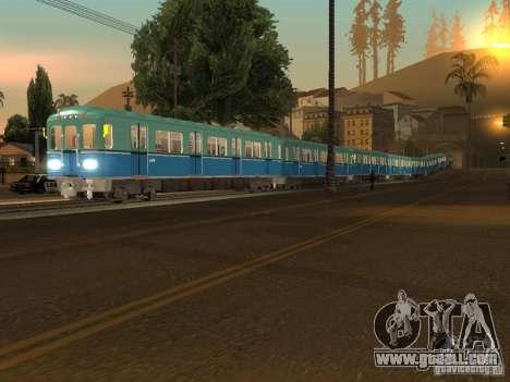 Metro e for GTA San Andreas left view