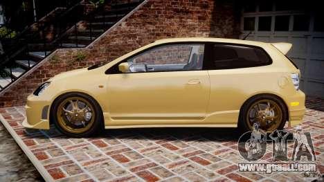 Honda Civic Type R 2005 for GTA 4 left view