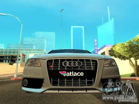 Audi S4 2010 for GTA San Andreas side view