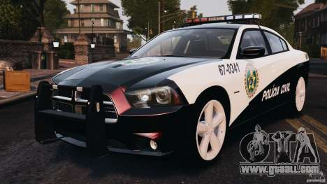 Dodge Charger RT Max Police 2011 [ELS] for GTA 4