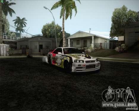 Nissan Skyline Z-Tune v2.0 for GTA San Andreas engine