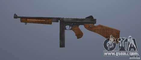 M1 Thompson for GTA San Andreas third screenshot