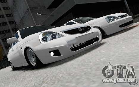 VAZ-2170 for GTA 4 back view