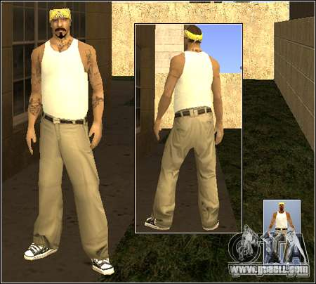 Skin Pack Getto for GTA San Andreas sixth screenshot
