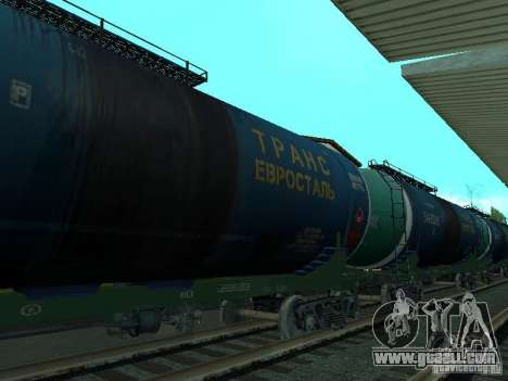 Tank wagon for GTA San Andreas left view