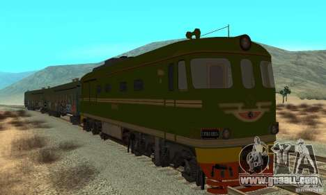 Custom Graffiti Train 2 for GTA San Andreas