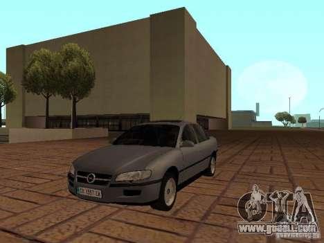 Opel Omega B 1998 v2 for GTA San Andreas
