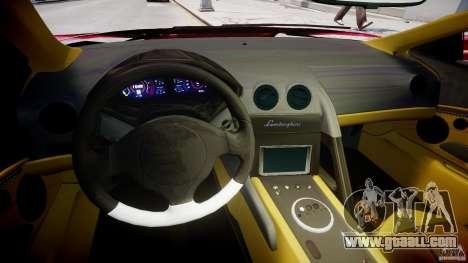 Lamborghini Reventon Final for GTA 4 back view
