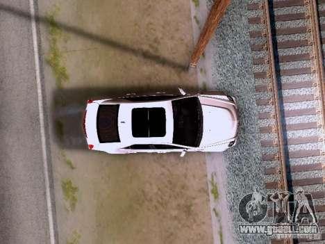 Cadillac CTS-V 2009 for GTA San Andreas side view