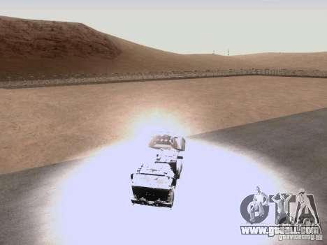 M142 HIMARS Artillery for GTA San Andreas inner view