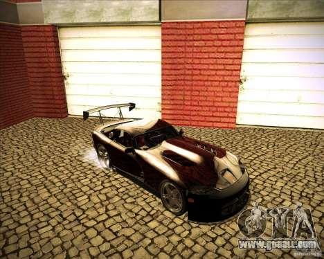 Dodge Viper TT for GTA San Andreas back view