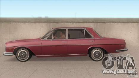 Mercedes-Benz 300 SEL for GTA San Andreas left view