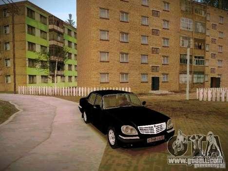 GAZ Volga 31105 S60 for GTA San Andreas