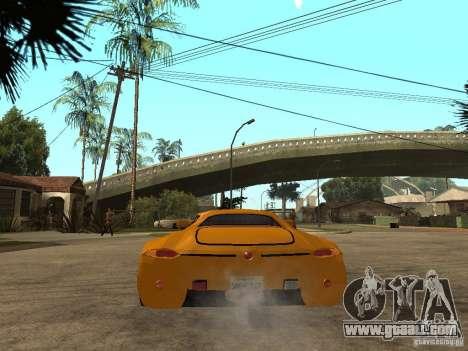 Gillet Vertigo for GTA San Andreas back left view