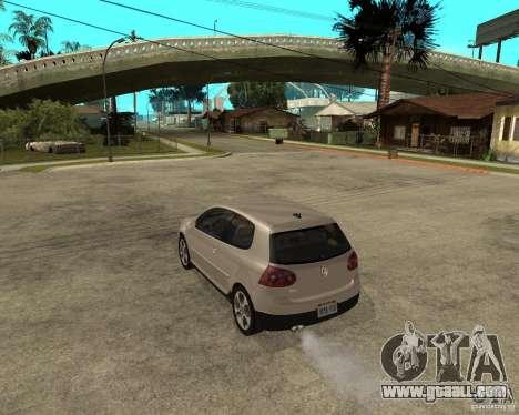 Volkswagen Golf V GTI for GTA San Andreas left view