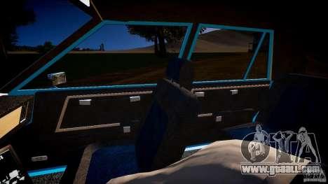 Dodge Diplomat 1983 Police v1.0 for GTA 4 inner view