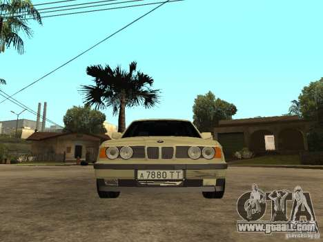 BMW 520i for GTA San Andreas right view
