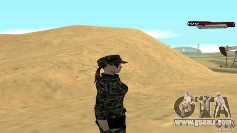 Soldier HD for GTA San Andreas third screenshot