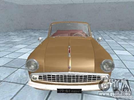Moskvich 403 Cabrio for GTA San Andreas right view