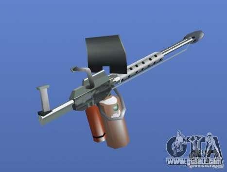 Flamethrower for GTA 4 second screenshot
