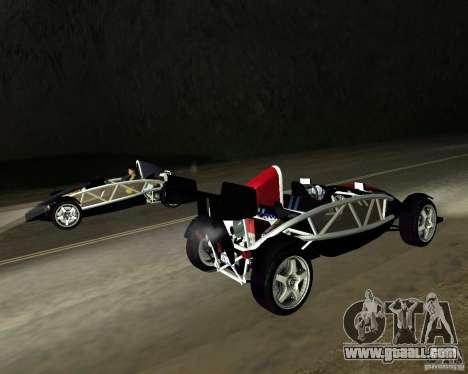 Ariel Atom V8 for GTA San Andreas left view
