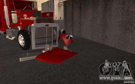 Peterbilt 379 Fire Truck ver.1.0 for GTA San Andreas upper view