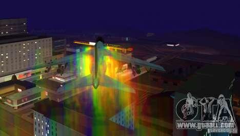 RainbowDash Hydra for GTA San Andreas left view