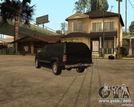 Chevrolet Suburban FBI for GTA San Andreas left view