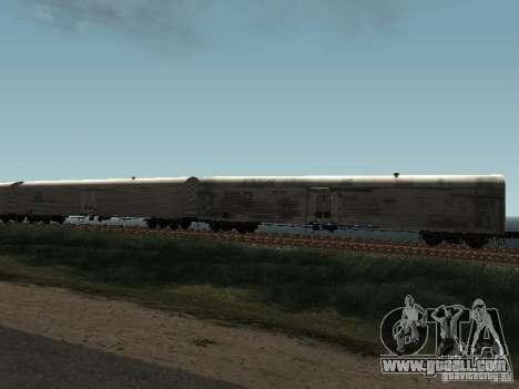 Refrežiratornyj wagon Dessau No. 10 for GTA San Andreas right view