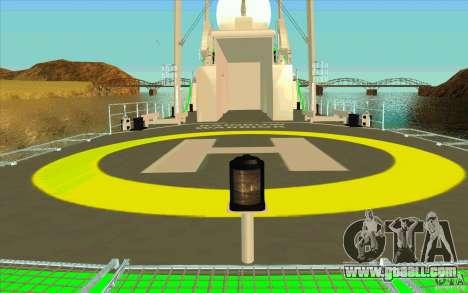 Rainbow Warrior for GTA San Andreas