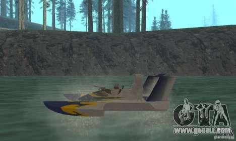 Hydrofoam for GTA San Andreas back left view