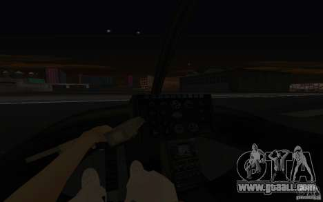 GTA IV Police Maverick for GTA San Andreas side view