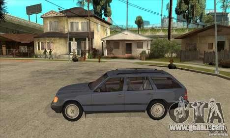 Mercedes-Benz 200TE 1985 for GTA San Andreas left view