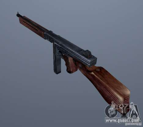 M1 (SMG Thomson) (v1.1) for GTA Vice City second screenshot