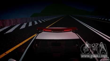 Volkswagen Gol G5 PMSP [ELS] for GTA 4 upper view