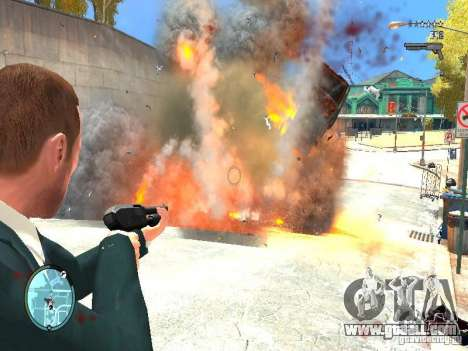 Real Explosions v2 FINAL for GTA 4 second screenshot