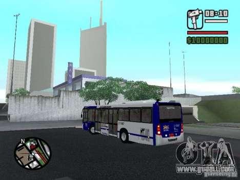 Busscar Urbanuss Ecoss MB 0500U Sambaiba for GTA San Andreas back left view