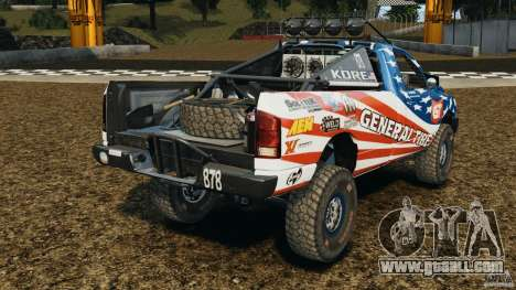 Dodge Power Wagon for GTA 4 back left view