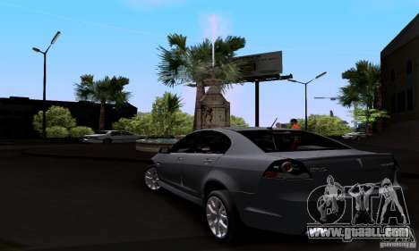 Pontiac G8 GXP for GTA San Andreas back left view