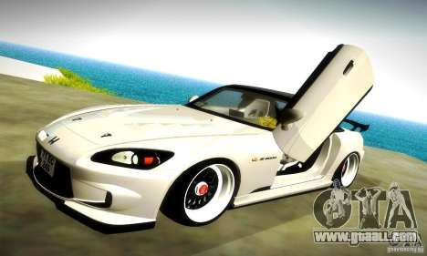 Honda S2000 JDM Tuning for GTA San Andreas wheels