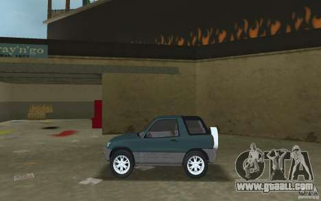Toyota RAV4 for GTA Vice City left view
