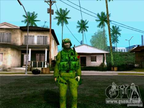 Morpeh forest camouflage for GTA San Andreas