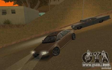 Audi RS6 TT Black Revel for GTA San Andreas inner view