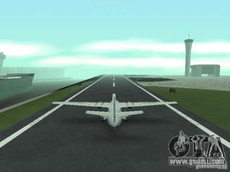Let L-410 for GTA San Andreas back left view