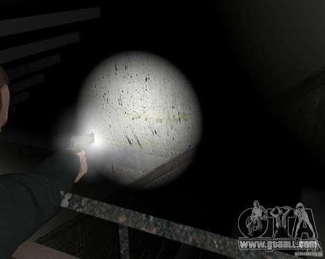 Flashlight for Weapons v 2.0 for GTA 4 ninth screenshot