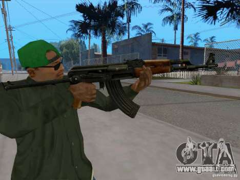 AKC - 47 HD for GTA San Andreas forth screenshot