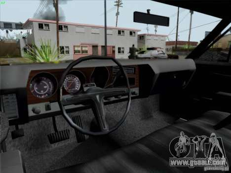 BETOASS car for GTA San Andreas back view