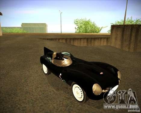 Jaguar D type 1956 for GTA San Andreas left view